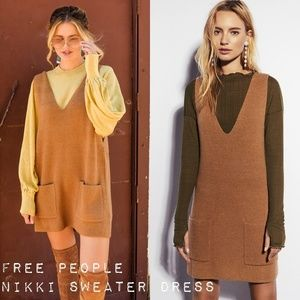 7a4771c093 Free People Dresses - Free People Nikki Sweater Dress